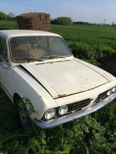 triumph dolomite to restore? It's currently sat in a pile of nettles looking sad