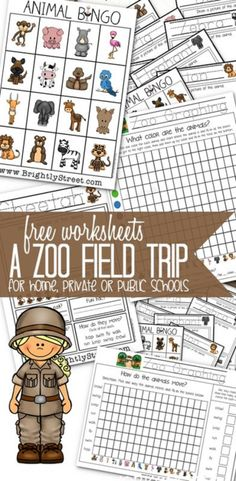 free zoo field trip worksheets zoos field trips and the zoo. Black Bedroom Furniture Sets. Home Design Ideas
