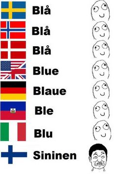 Finnish language differences compared to other languages.