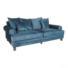 Elegance and comfort combine in our special Lisette Sofa Collection. Covered in sumptuous velvet with plum Scatter Cushions, Seat Cushions, Green Velvet Fabric, 5 Seater Sofa, Vintage Sofa, Velvet Sofa, Fabric Sofa, Leather Sofa, Upholstery