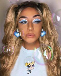 Daphne Blake, Eyebrow Makeup, Powerpuff Girls, Face Art, Halloween Makeup, Cartoon Art, Eyebrows, Make Up, Graphic Design
