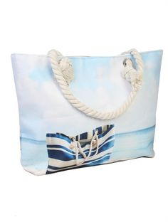 Beach Tote Bags, Summer Days, Purses And Bags, Closure, Shoulder Bag, Zip, Canvas, Accessories, Women