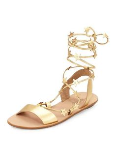 Loeffler Randall Starla leather gladiator sandal