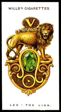 LEO~Cigarette Card - Leo, The Lion