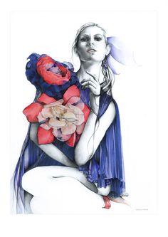 Magdalena Kruszynska #fashion #illustration #art