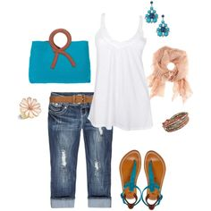 """""""Breezy Cool Color"""" by romigr99 on Polyvore"""
