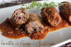 Gli Involtini di Carne e Mortadella sono un secondo piatto semplice e gustoso