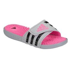 7ff75221e0ce adidas Adissage Fade - Women s - Mid Grey Black Solar Pink