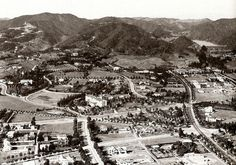 My Love Of Old Hollywood An aerial view of Beverly Hills (Beverly Hills Hotel center) as it appeared in the early 1920's