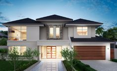 Featuring a stunning front elevation, grand curved staircase and spacious upstairs sitting area, the luxurious ambience of this home is...