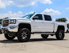 "2016 GMC Sierra 1500 SLT with a 6"" Pro Comp lift, 20"" Fuel Wheels, 35"" Toyo Open…"