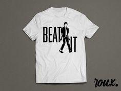 Beat It Michael Jackson Tribute Shirt by rouxbayou on Etsy