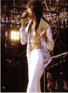 Steve Perry can ring my bell any way he wants to.