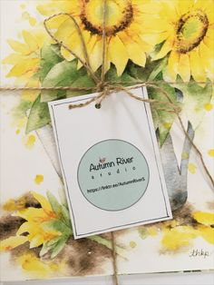 I am so thrilled to share my logo design with you all. It is printed on a label sticker and can be used on gift tag, sealing a gift bag, or stick on any surface. Please DM for inquiry. Studio Logo, Surface Design, Fall River, Gift Tags, Label, Logo Design, Sticker, Autumn, Photo And Video