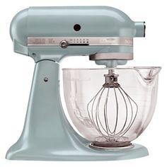 KitchenAid Artisan Design Series 5 Qt Stand Mixer - Azure Blue