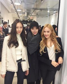 Jessica Jung and Krystal attended BLANC & ECLARE's opening in New York ~ Wonderful Generation ~ All About SNSD, Wonder Girls, and f(x)