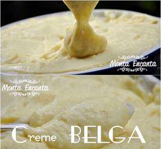 Creme belga mais gostoso impossível! - Monta Encanta My Recipes, Sweet Recipes, Cake Recipes, Cap Cake, Salsa Dulce, Cake Fillings, Cake Boss, Food Cakes, Party Cakes