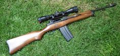 Ruger Mini-14 wood upperLoading that magazine is a pain! Get your Magazine speedloader today! http://www.amazon.com/shops/raeind