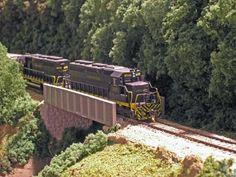 Clinchfield Railroad N-scale Blue Ridge Division - Home