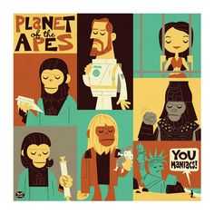 Planet of the Apes by Dave Perillo
