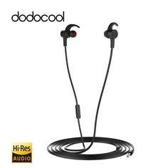 Hi-Res 24-bit In-ear Sport Stereo Earphones with Mic