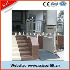 Hydraulic residential elevator price  1.disabled lift capacity:250-300kg;   2.disabled lift lifting 1-8m  3.Customer design