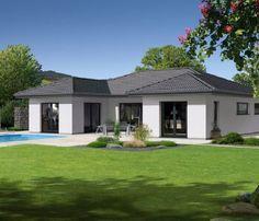 Plan de maison plain pied moderne enjoy terrasse maisons lugano pinterest architecture - Garage saint philbert de grand lieu ...