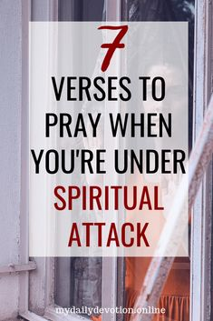 How to Know If You're Under Spiritual Attack - My Daily Devotion Spiritual Attack, Spiritual Warfare, Spiritual Health, Spiritual Practices, Spiritual Growth, Prayer Scriptures, Bible Verses, Bible Prayers, Christian Life
