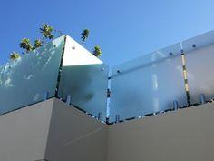 Frosted/sandblasted glass balustrades - Elite Balustrades
