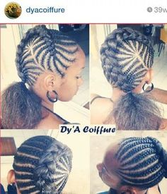 202 Best Lil Beauty Images In 2019 Braids For Kids Girls Braids