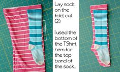 DIY Sew your own socks. I looked up socks to make super warm ones and found a site whose pattern/concept I'd prefer (not as much bunching when using fleece) but pinterest wouldn't let me pin it. Other website, as well: http://sew-ing.com/make/socks.html