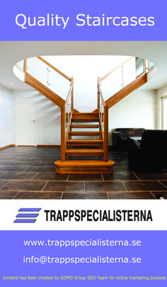 Trappspecialisterna Is A Swedish Company Which Designs For You The Best And Quality  Stairs For Your
