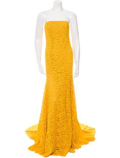 Michael Kors Strapless Lace Gown w/ Tags