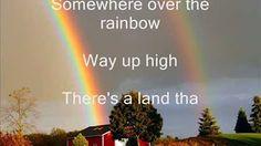 Somewhere Over the Rainbow by Israel Kamakawiwo'Ole - YouTube