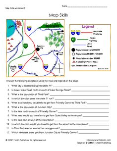 snapshot image of map skills worksheet 2 homeschoolsocial studieshistorygeorgraphy pinterest map skills worksheets and social studies