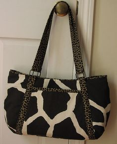 Emily - Giraffe and Leopard by LIZZE TISH, via Flickr
