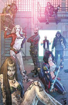 Suicide Squad by Patty Arroyo FB: Patty Arroyo Art  IG: @pattyarroyoartofficial
