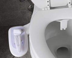 SMINNG Deluxe Bidet Ducha-bid/é Boquilla De Autolimpieza Accesorio De WC De Bid/é Mec/ánico No El/éctrico De Agua Dulce De WC para La Higiene /íntima