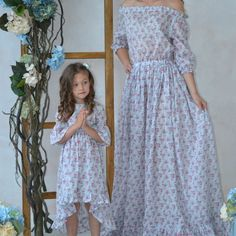 0d1124fc65c 46 Best Mother Daughter matching dresses images in 2019