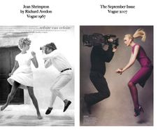 Feels Familiar? Richard Avedon 1967 / Vogue 2007