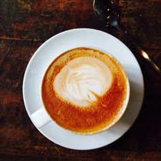 Flat white, East Dulwich Picturehouse cafe