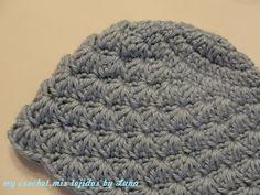 Crochet Hat - Tutorial ❥ 4U    hf Crochet Kids Hats 82400f3dc49