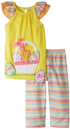 Rare Editions Little Girls' Easter Egg Legging Set, Yellow, 5 Rare Editions http://www.amazon.com/dp/B00AA4YR0U/ref=cm_sw_r_pi_dp_rLCIub17M8SM4