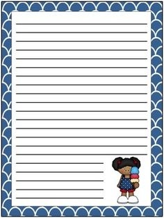 Students will enjoy writing on these super cute patriotic writing papers! FREE!