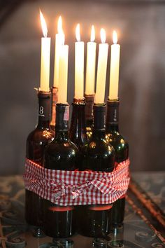 Fun Wine Tasting Party Ideas | centerpiece idea for a Vineyard wedding or for a wine tasting party ...