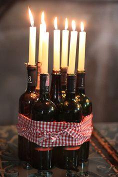 wine tasting, theme parties, wine parties, tast parti, centerpiec idea, vineyard wedding, themed weddings, candl, wine bottles