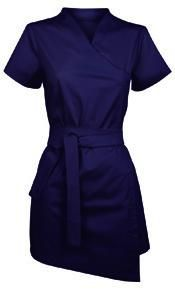 Long, short-sleeved blouse  Balneo Spa Uniforms, $55