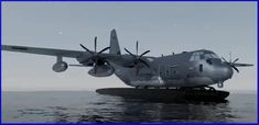 Air Force Special Operations Command Turning MC-130J Into Flying Boats Air Force Special Operations, Special Operations Command, Amphibious Aircraft, Cargo Transport, Cruise Missile, C 130, Military Operations, Us Coast Guard, Us Air Force
