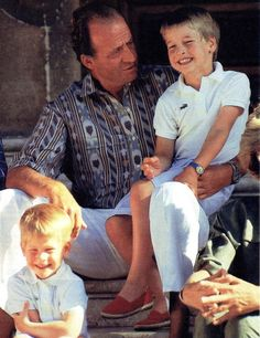 King Juan Carlos & Prince William in Mallorca