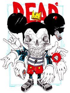 Mickey Dead Heroes on Behance